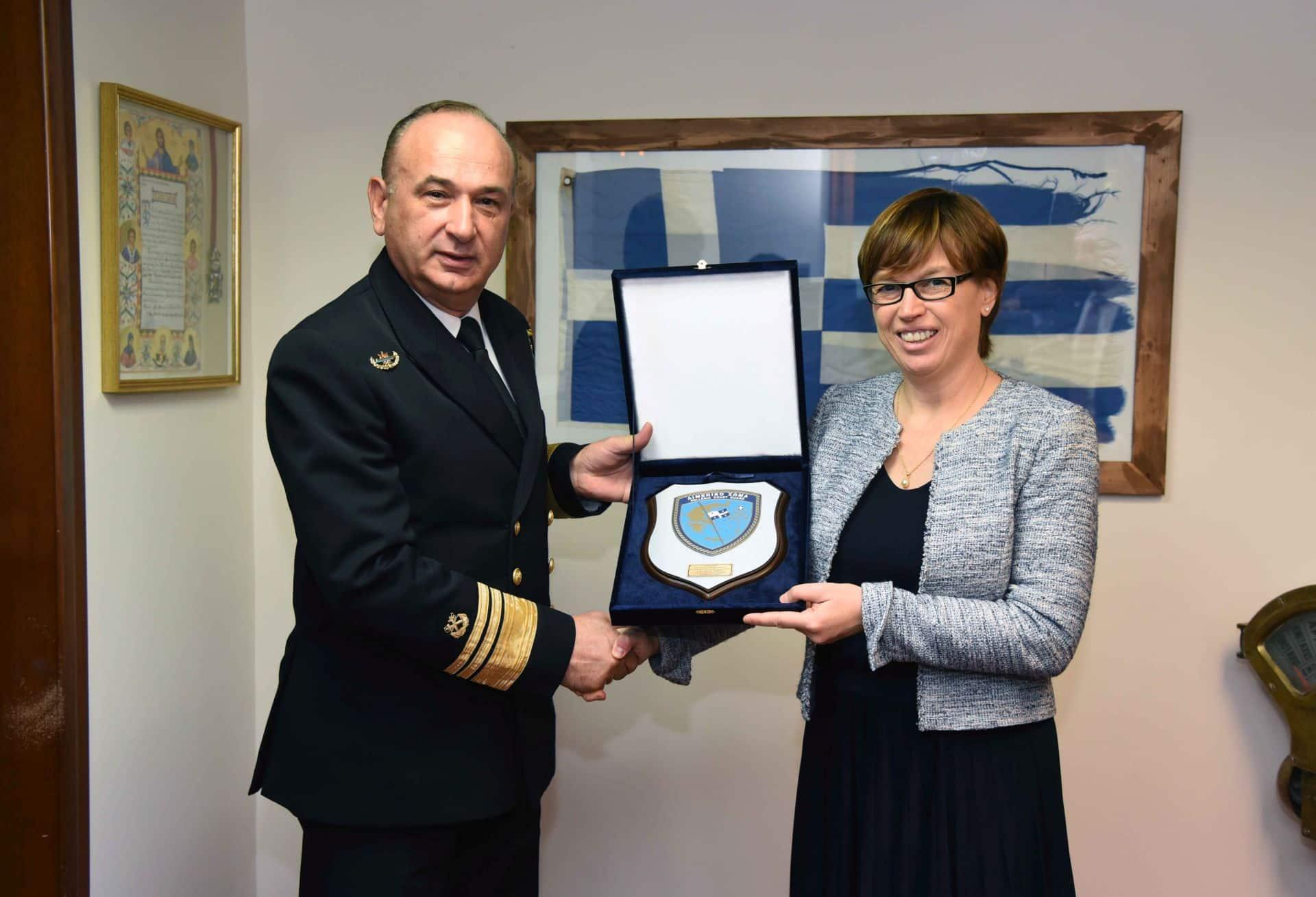 Αποτέλεσμα εικόνας για Επίσκεψη της Εκτελεστικής Διευθύντριας της EUROPOL στο Υπουργείο Ναυτιλίας και Νησιωτικής Πολιτικής