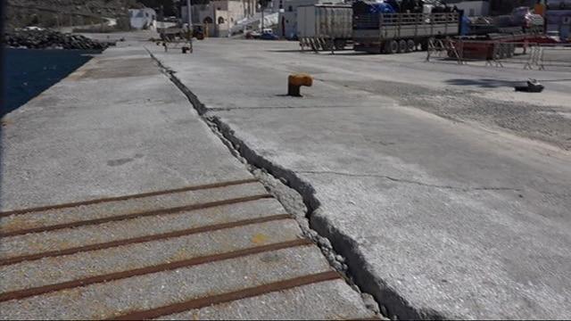 Αποτέλεσμα εικόνας για Ο υπουργός Υποδομών και Μεταφορών δρομολογεί τις διαδικασίες για την οριστική λύση στον προβλήτα του Αθηνιού στη Σαντορίνη Ενέκρινε τη δέσμευση ποσού 8.400.000 εκ. ευρώ για τη δημοπράτηση του έργου που αφορά την αποκατάσταση των ζημιών που έχουν