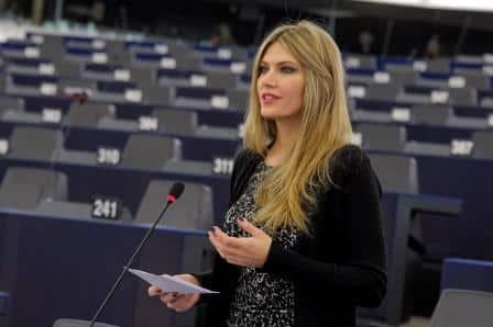 Αποτέλεσμα εικόνας για Παρέμβαση στην Επιτροπή Εξωτερικών του Ευρωπαϊκού Κοινοβουλίου κατά την επίσκεψη του Υπουργού Εξωτερικών των Σκοπίων Ν.Ντιμιτρόφ