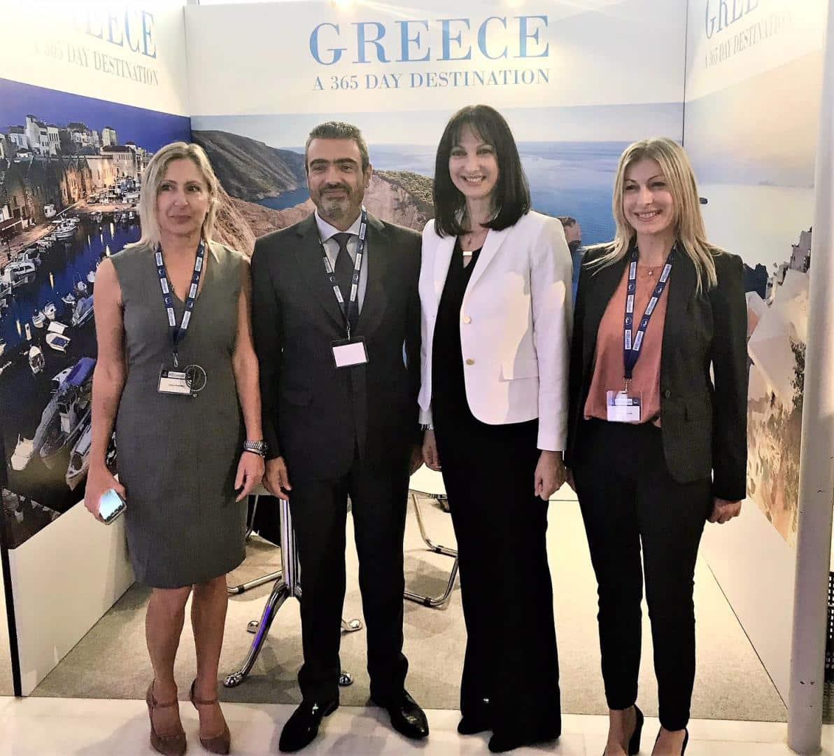 Αποτέλεσμα εικόνας για Στρατηγική επιλογή η επέκταση του δικτύου μαρινών, η προσέλκυση επενδύσεων και η ανάπτυξη του θαλάσσιου τουρισμού - Ομιλία της Υπουργού Τουρισμού Έλενας Κουντουρά στο παγκόσμιο συνέδριο ICOMIA 2018 στην Αθήνα