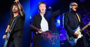 Συνάντηση κορυφής Paul McCartney, Dave Grohl και Elvis Costello