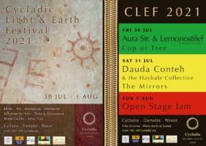 Cycladic Light & Earth Festival 2021